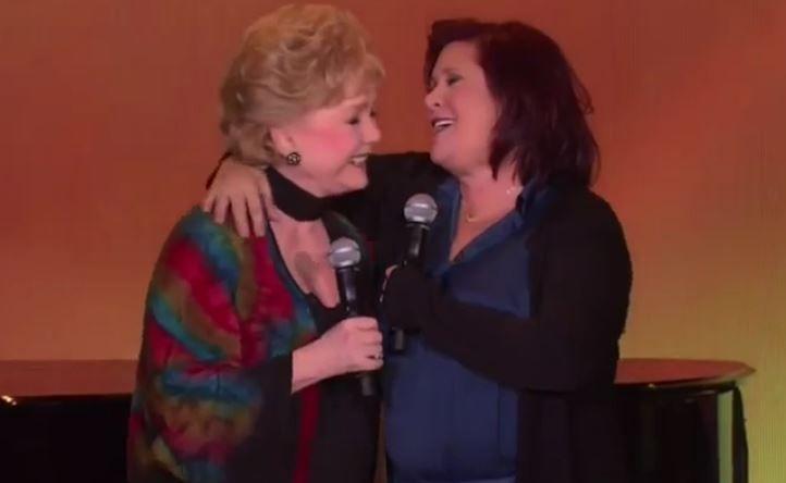 Tributo a Carrie Fisher y Debbie Reynolds en los Golden Globes
