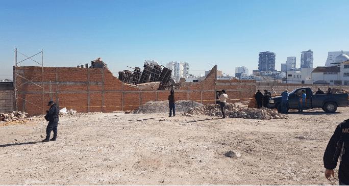 Colapso de construcción en SLP deja 2 muertos - Foto de @OmarNNoticias