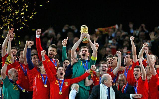 Revelan posible camiseta de España para el Mundial - Foto de internet