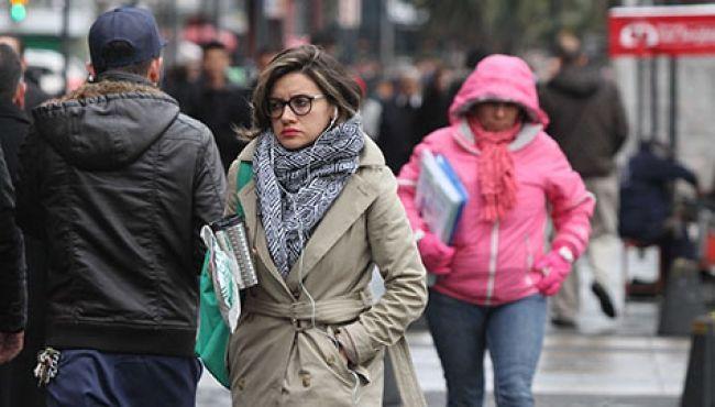 Frente frío generará temperaturas bajas en norte y centro del país