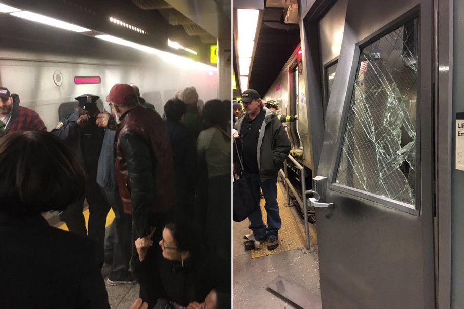 Descarrila tren en Nueva York. Al menos 103 heridos