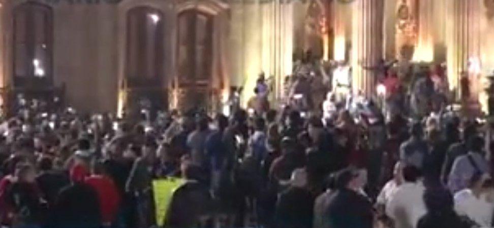 Suman 35 detenidos y seis heridos tras protestas en Nuevo León