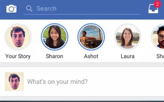 Facebook tendrá la función Stories de Instagram