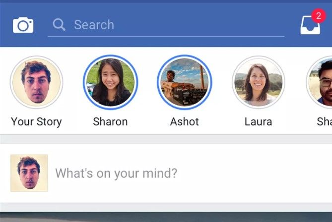 Facebook tendrá la función Stories de Instagram