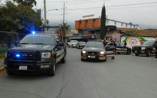 Maestra reportó al 911 ataque en escuela de Monterrey - Foto de Twitter