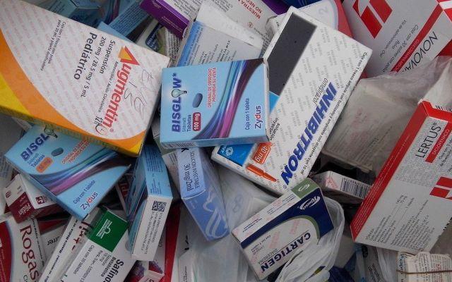 Encuentran irregularidades en medicamentos de Veracruz