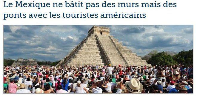 México construye puentes para turistas de EE.UU: diario francés - Foto de Le Figaro