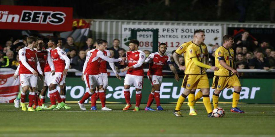 Arsenal avanza a cuartos de final de la FA Cup - Foto de The Guardian