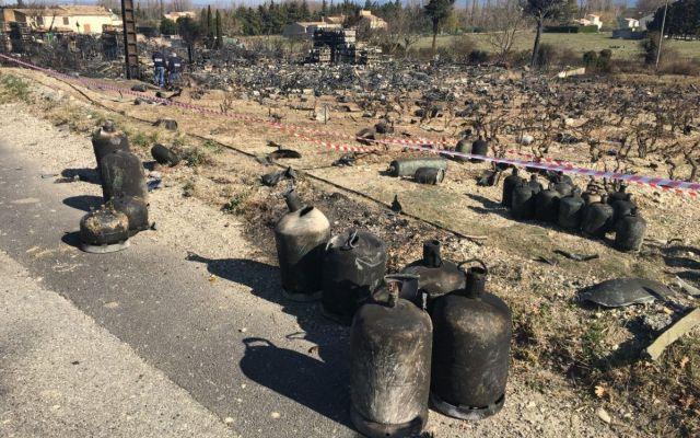 Video: explosión en almacén de tanques de gas en Francia - Foto de @laprovence