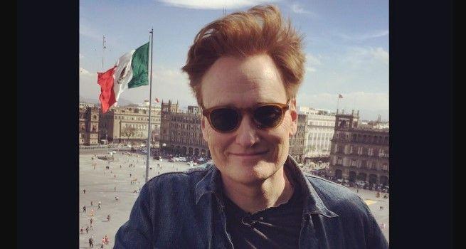 Conan O'Brien presenta el estudio en que grabará su programa