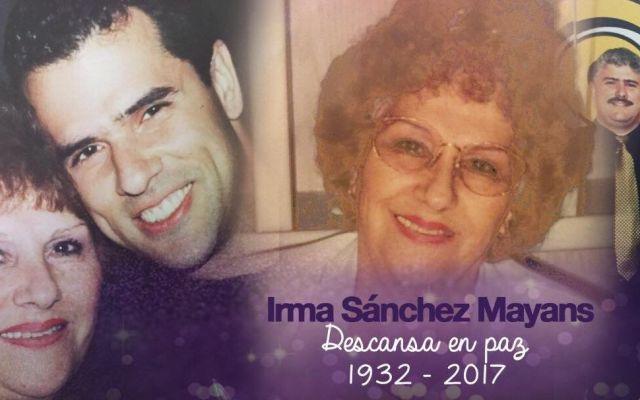 Muere la madre de Marco Antonio Regil - Foto de Facebook