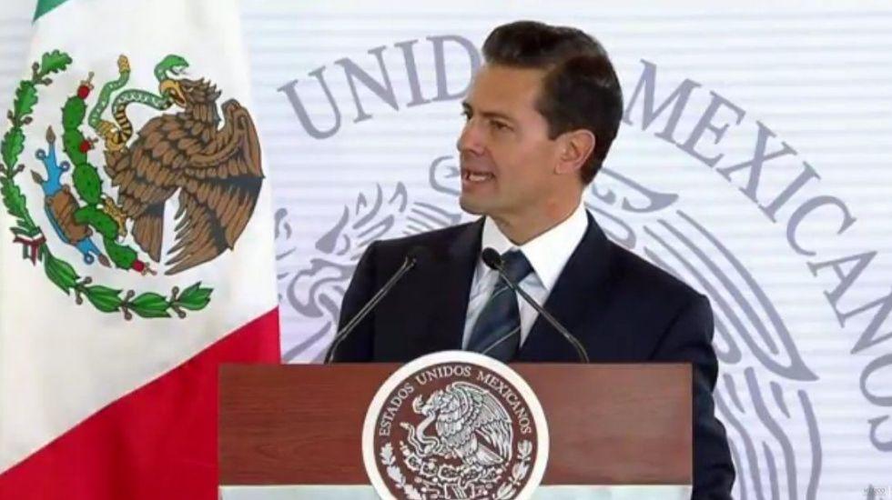 """""""Soldados merecen nuestra mayor gratitud, respeto y admiración"""": Peña Nieto - Foto de @PresidenciaMX"""