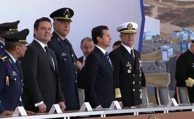 EPN inaugura Base Aérea Militar Número 5 en Jalisco - La ceremonia en la Base Aérea Militar Número 5. Foto de Quadratín