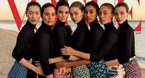 Acusan a Vogue de abusar de photoshop en portada