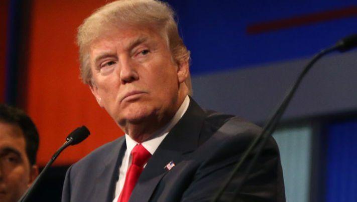 Trump, el presidente más impopular en la marca de 100 días en el poder - Donald Trump. Foto de BBC