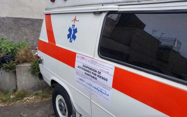 Realizan operativos contra ambulancias clandestinas