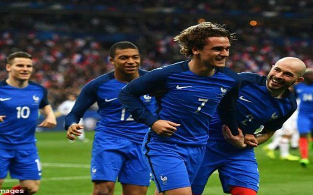 Anulan gol a Griezmann con ayuda de video - Foto de Daily Mail