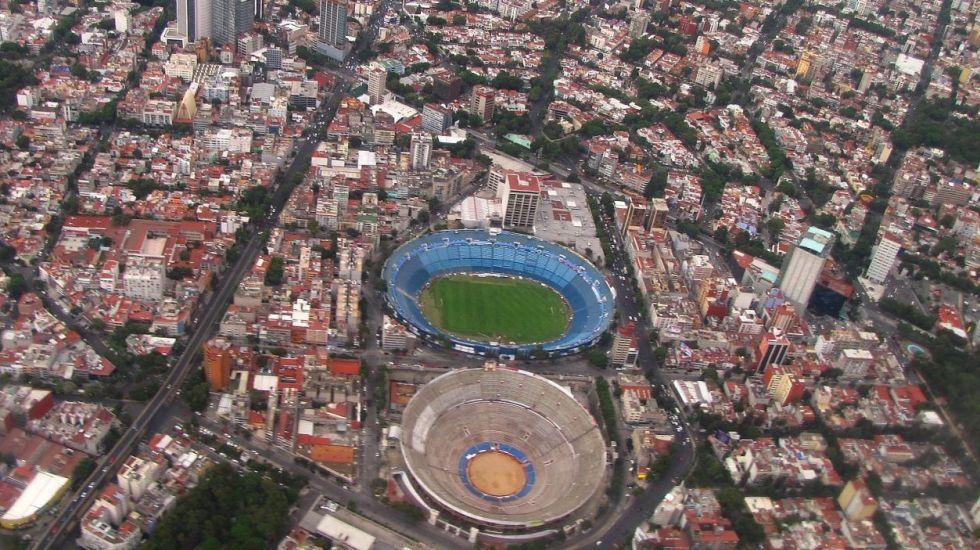 Los estadios más importantes de la Ciudad de México - Foto de Héctor Alva Zevada