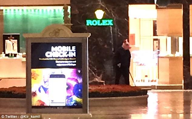 Roban tienda dentro del hotel Bellagio en Las Vegas - Foto de @Kir_kamil