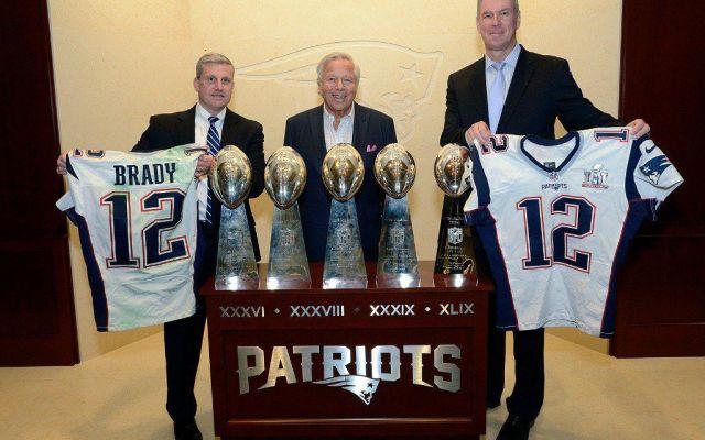 Comunicado de los Patriotas tras recuperar los jerseys del Super Bowl - Foto de Internet