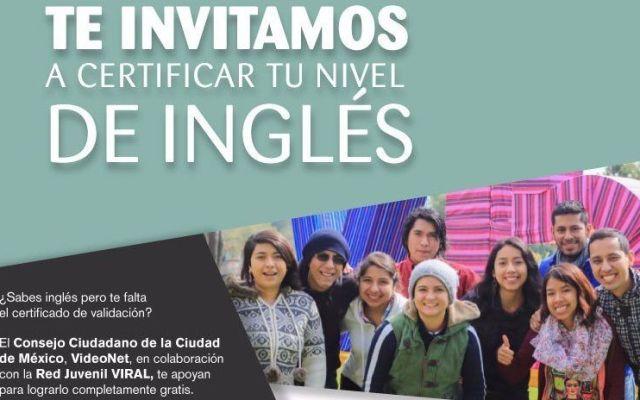 Invitan a certificar nivel de inglés en la Ciudad de México