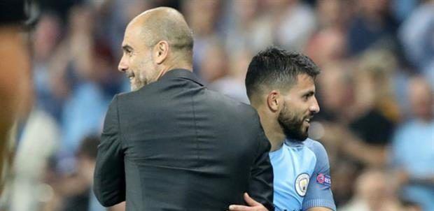 Guardiola molesto por preguntas sobre futuro de Agüero