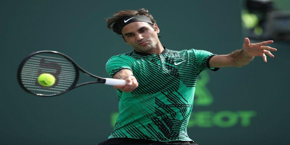 Federer avanza a semifinales del Abierto de Miami - Foto de @MiamiOpen
