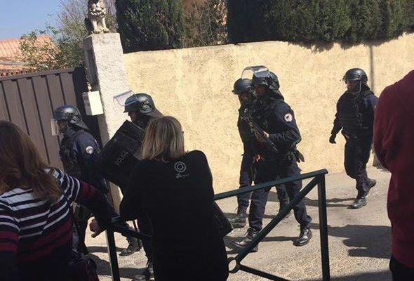 Tiroteo en secundaria francesa deja ocho heridos - Foto de Internet