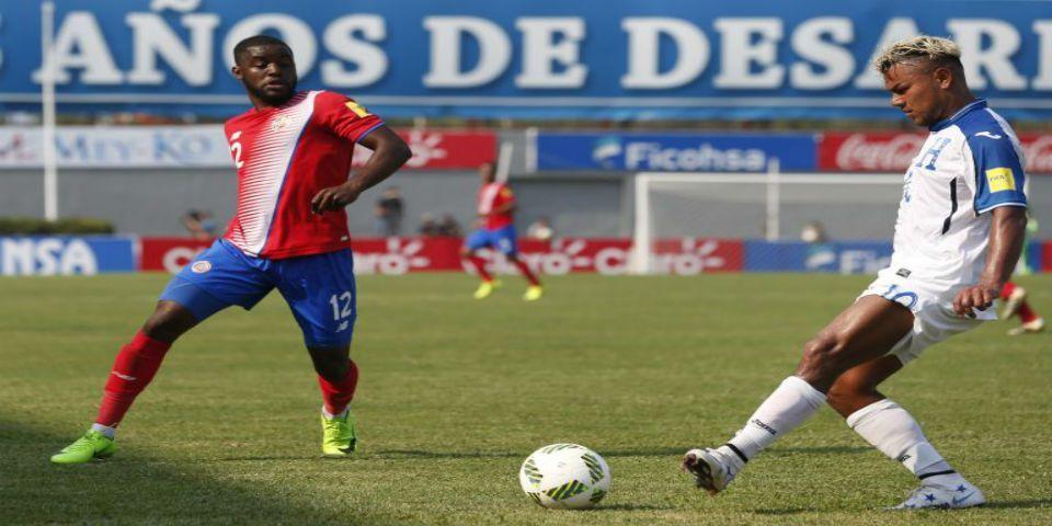 Costa Rica pierde la cima del Hexagonal ante Honduras - Foto de TDN