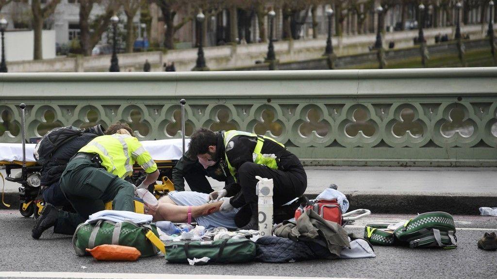 Sobreviviente relata atentado en Londres - Foto de Reuters
