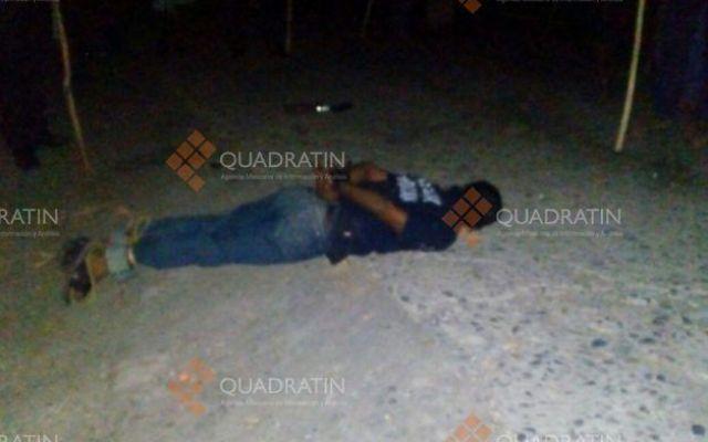 Policías abaten a delincuente al repeler agresión en Michoacán - Foto de Internet