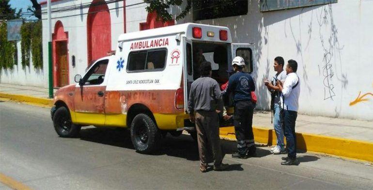 Pelea entre taxistas y mototaxistas deja dos heridos de bala en Oaxaca - Foto de Quadratin