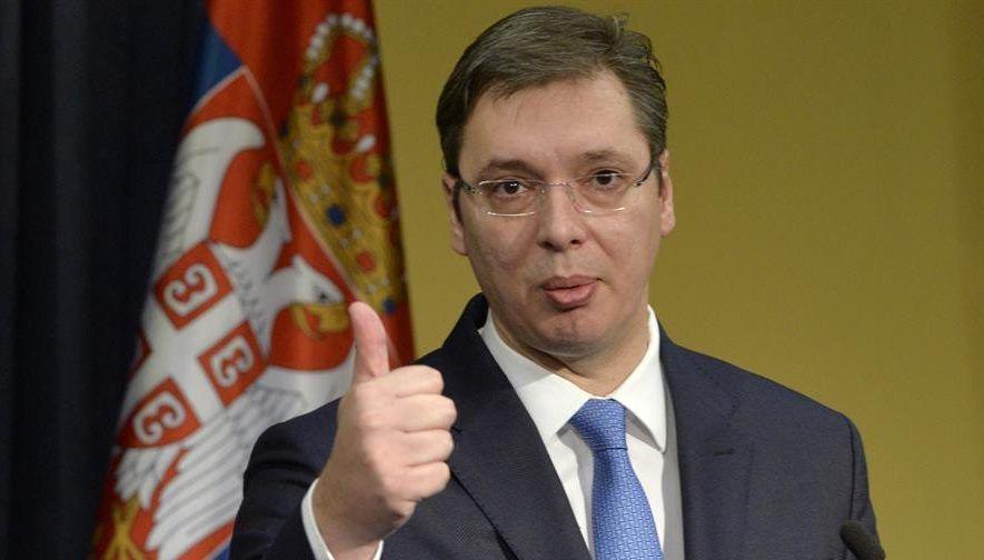 Aleksandar Vucic vuelve a ganar las elecciones presidenciales en Serbia - Foto de archivo