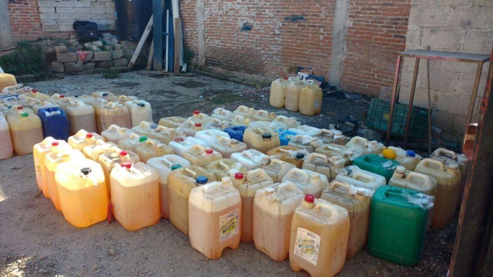 Aseguran inmueble y toma clandestina a ladrones de combustible - Foto de Internet