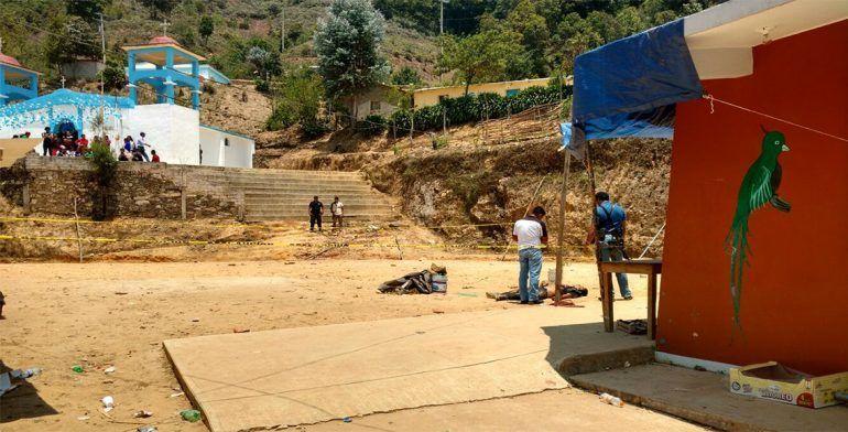 Asesinan a adolescente durante baile en Oaxaca