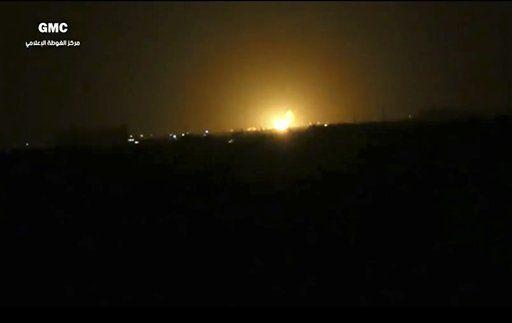 Siria atribuye a Israel ataque en Damasco - Foto de AP