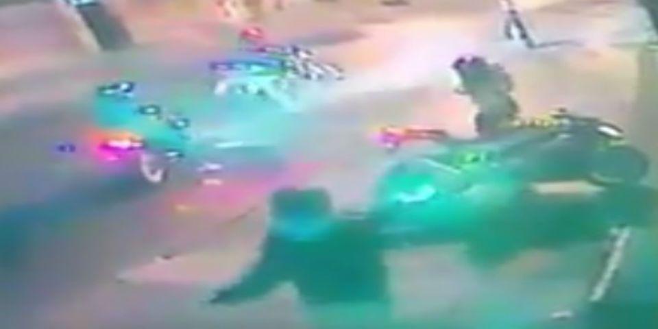 #Video Roban motocicleta en el Centro - Foto de Twitter