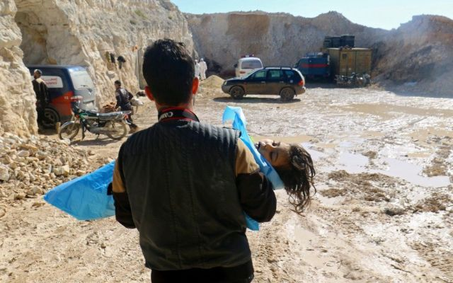 Rusia responsabiliza al régimen sirio por el ataque químico en Jan Sheijun