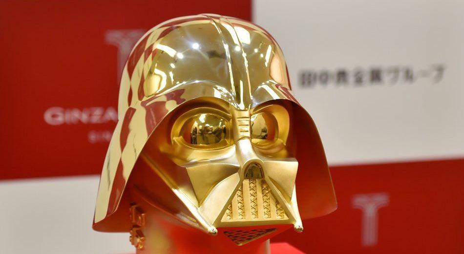 Joyería crea casco de oro de Darth Vader con valor superior a los 26 mdp - Foto de Twitter