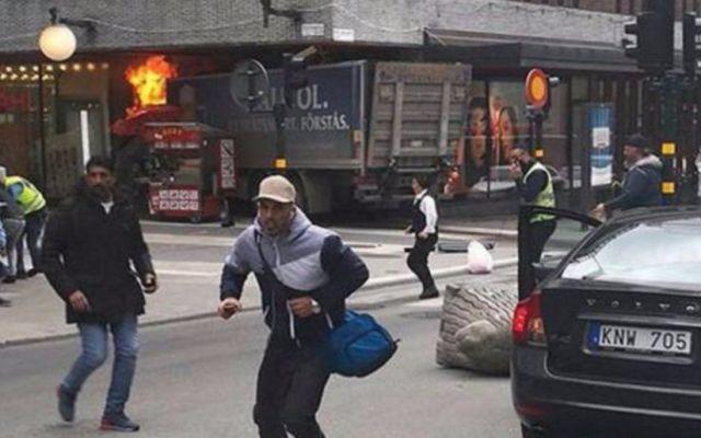 Detienen a segundo sospechoso del ataque terrorista en Estocolmo - Foto de Internet