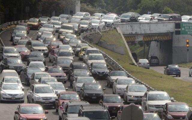 Hoy No Circula redujo contaminación en el Valle de México: CAMe - Foto de archivo