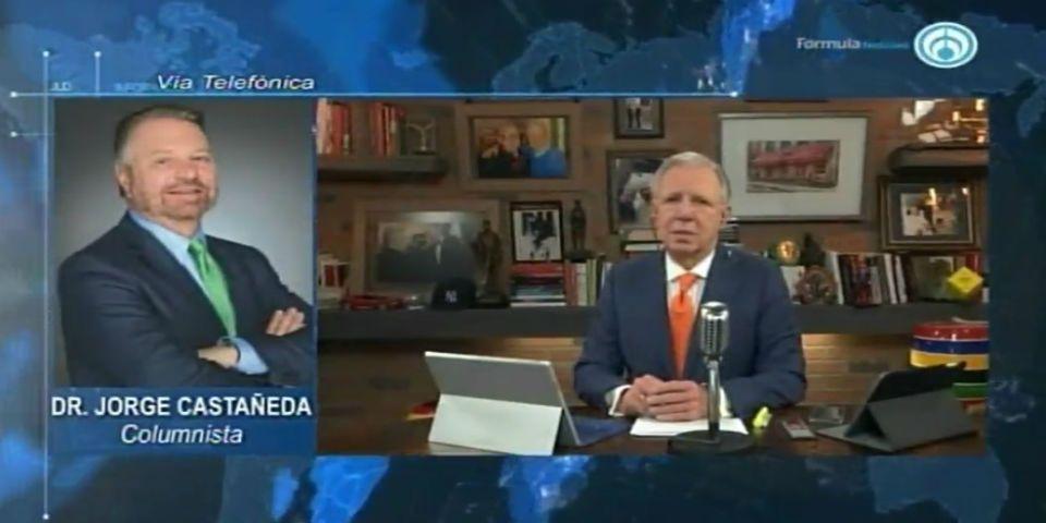 Discurso de Trump fue la gota que derramó el vaso: Jorge Castañeda
