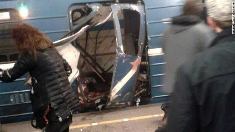 Testimonios del ataque terrorista al Metro de San Petersburgo