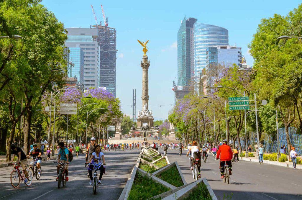 Ciudad de México otorgará seguro y asistencia para ciclistas