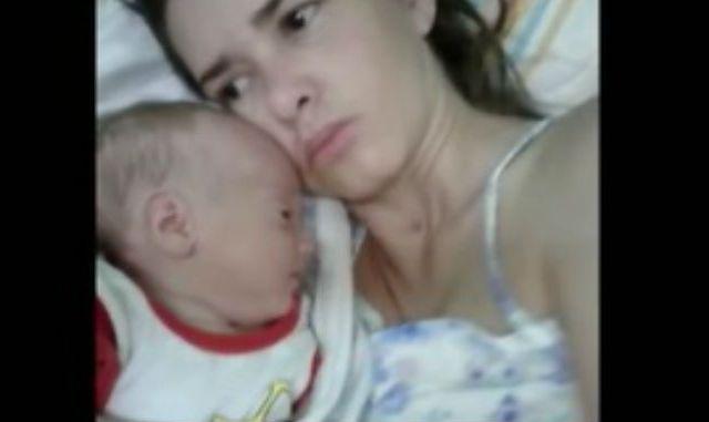 Mujer sale de coma y conoce a su hijo de tres meses
