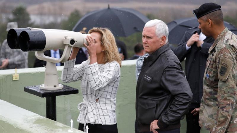 La paciencia de EE.UU. con Corea del Norte se agotó: Pence - Foto de Kim Hong-ji/Reuters
