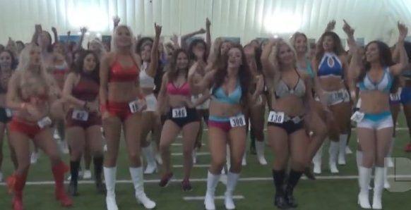 #Video Audiciones para elegir a las nuevas porristas de los Texans