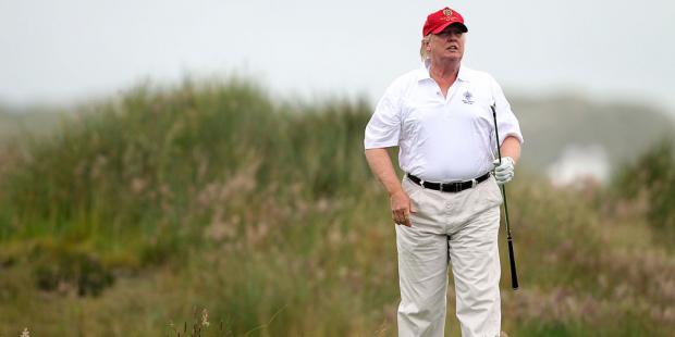 Trump no ha salido de EE.UU. en sus primeros 100 días como presidente