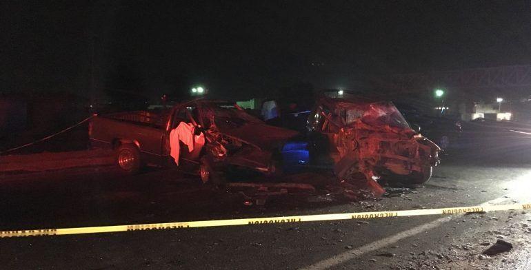 Muere mujer en choque en la carretera Toluca-Naucalpan - Foto de Quadratin