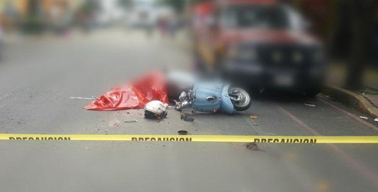 Muere motociclista en la Miguel Hidalgo - Foto de Iberomed